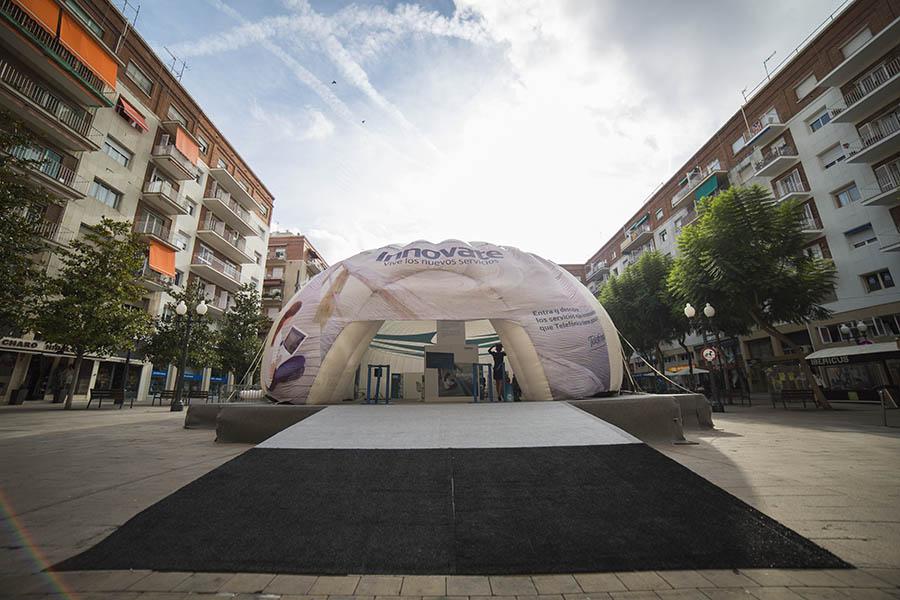 Agencia de eventos Madrid | Roadshow Telefónica