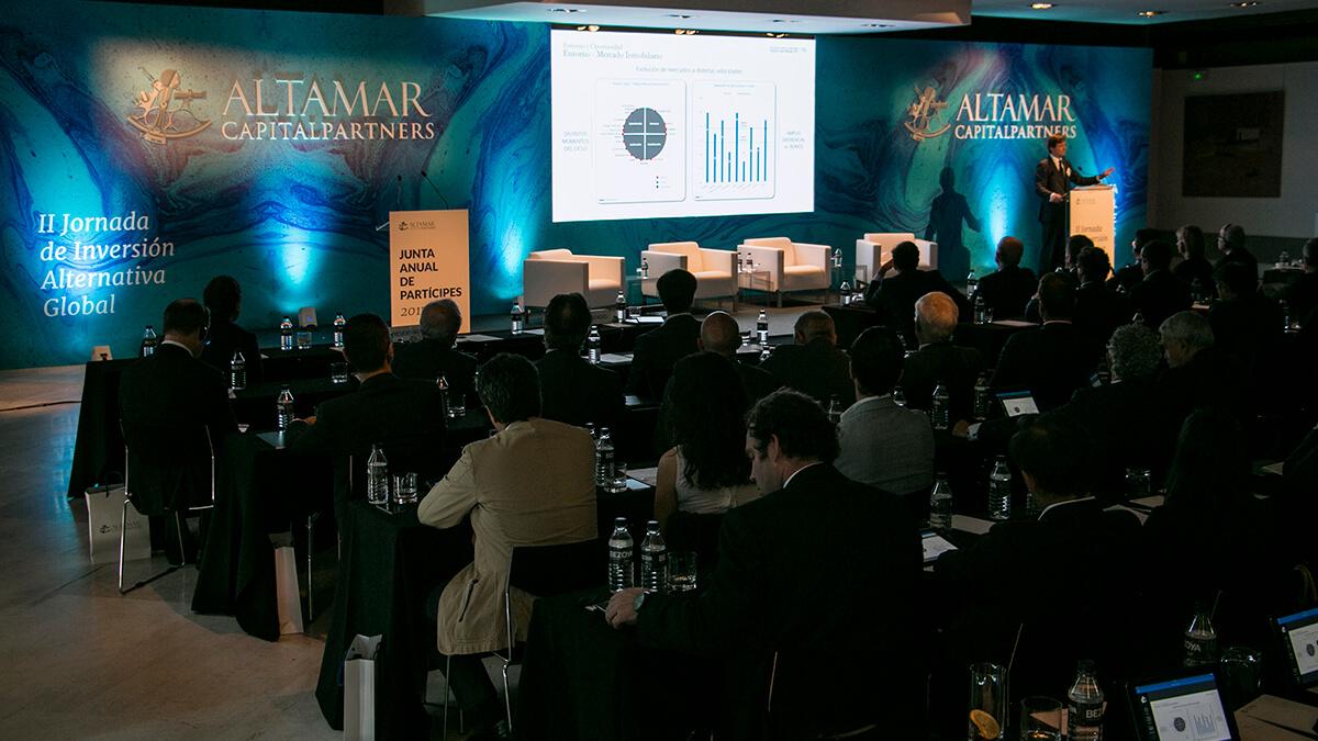 Agencia de eventos Madrid | Junta de inversores