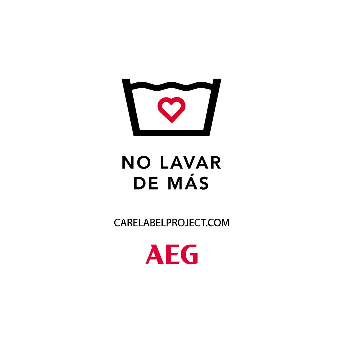 #CareLabelProject de AEG