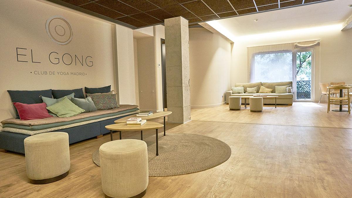 Inaugurando El Gong, Club de Yoga