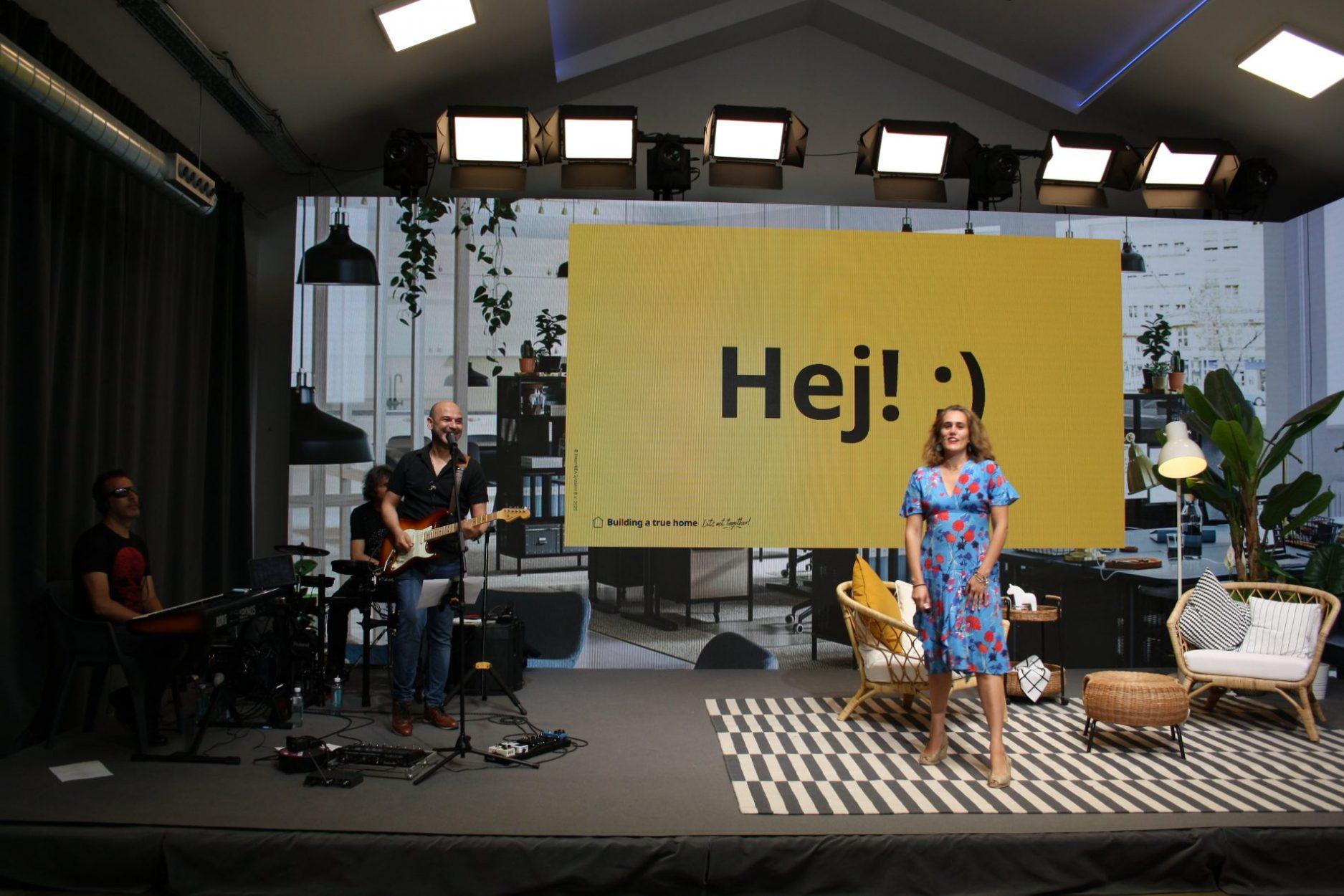 Escenario evento de IKEA.